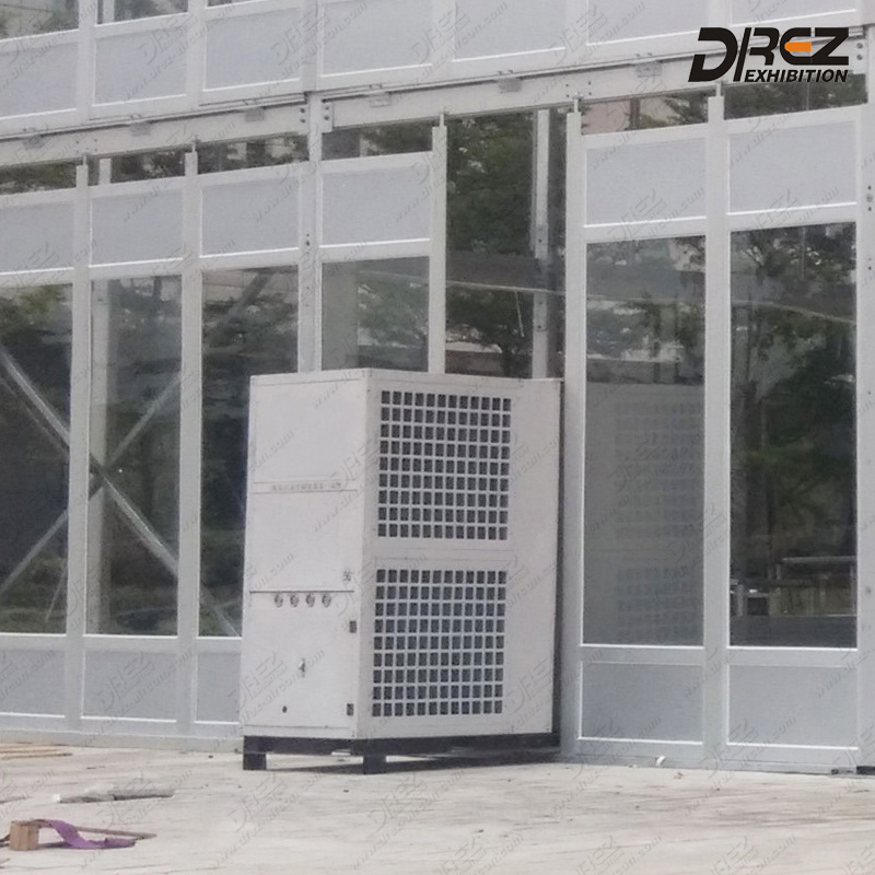 25 Ton Integrated Air Cooled Packaged Central Commercial Air Conditioner