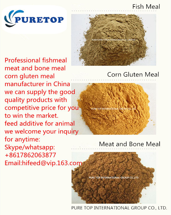 Animal Feed Corn Gluten Meal/Feed Fish Meal Bone Meat Meal Soybean Meal for Sale