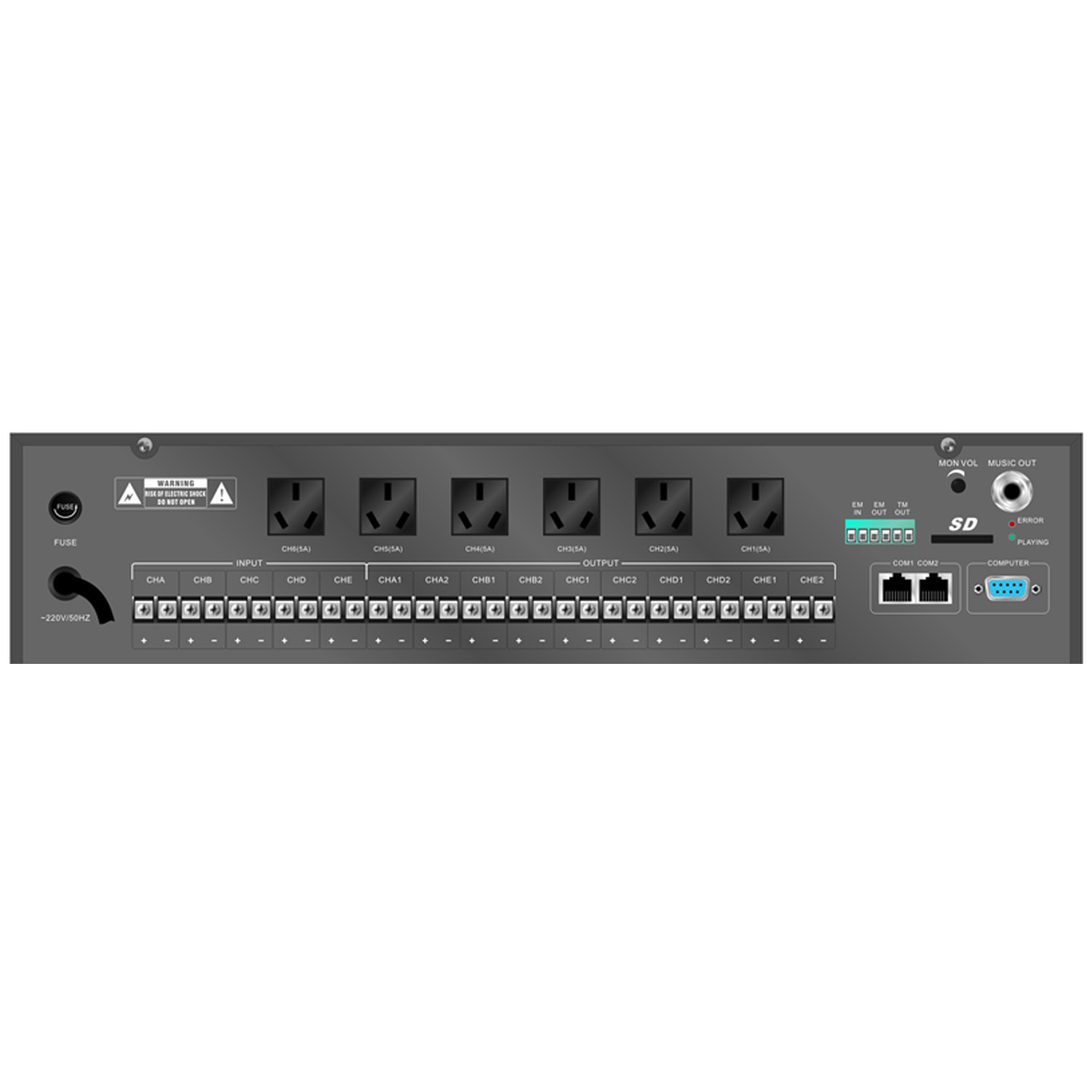 Digital Programming Zone Controller Amplifier Se-5100