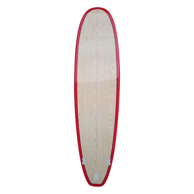 Popular Stand up Paddle Sup Board 12 6 Surfboard with Bamboo Veneer Top