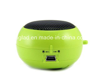 Mini Hamburger Shape Portable Wireless 3.5mm Plug USB Speaker