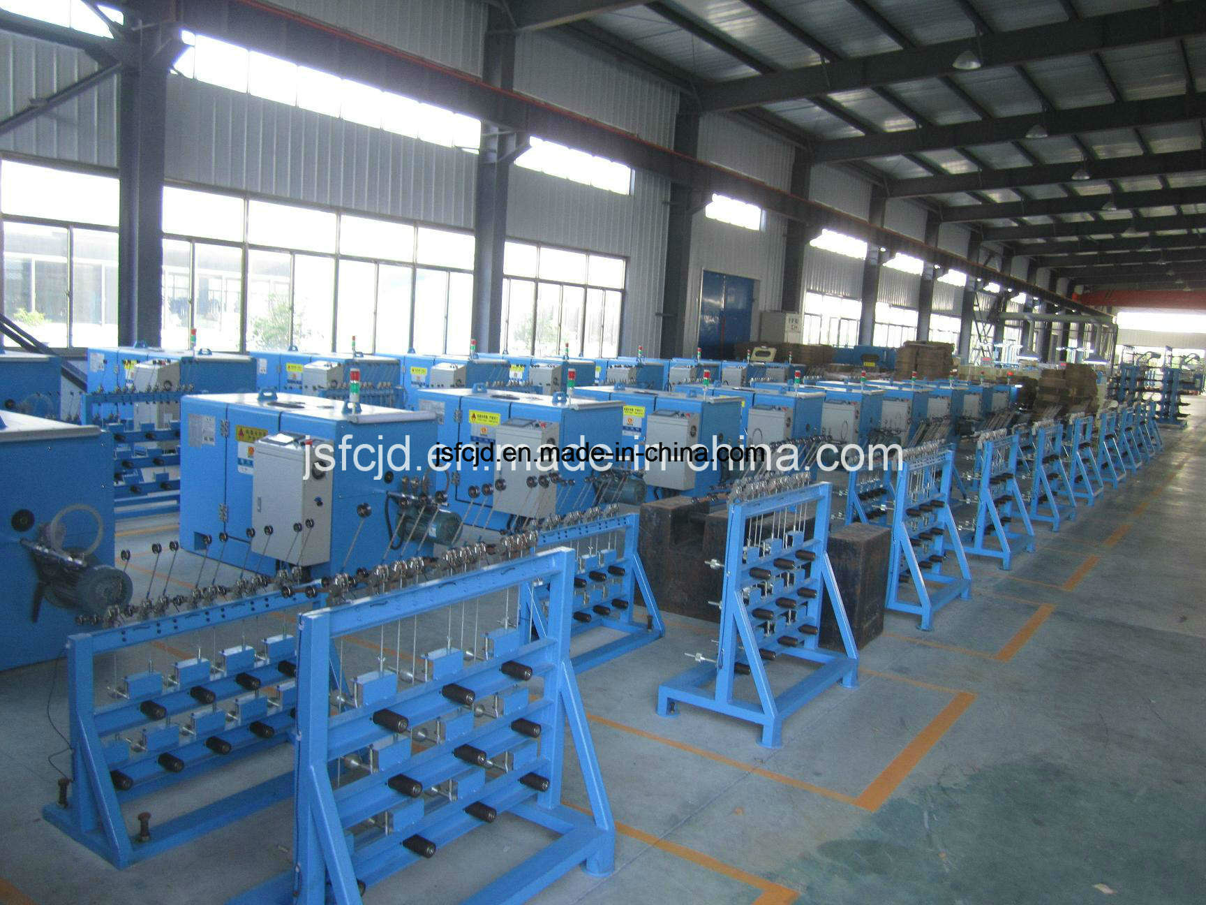 High Speed Copper Wire, Alloy Wire, Tinned Wire, Enamelled Wire Twisting/Stranding Bunching Machine