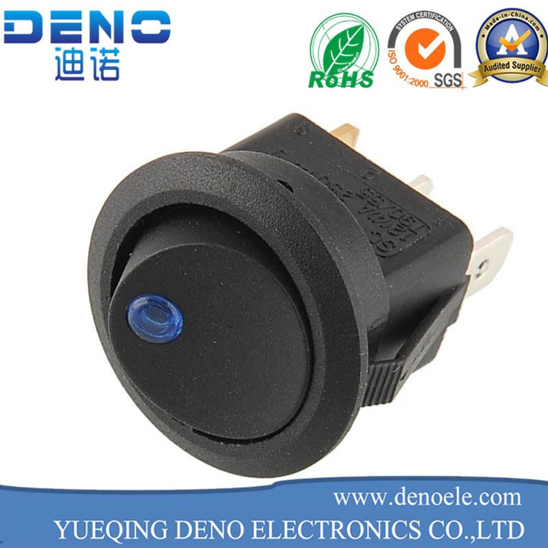 UL Approval 6A 250V 10A 125V Copper Pins Rocker Switch