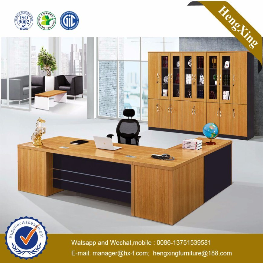 Chinese Stock Lots Discounted Cheap Modern Wooden Office Furniture (NS-NW1711)