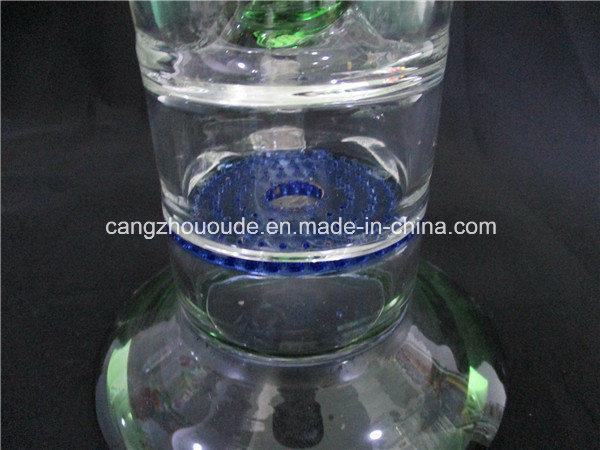 Hand Blown Percolator Glass Bubble Pipe