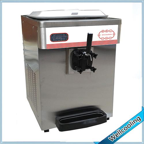 Single Flavor Table Model Soft Ice Cream Maker