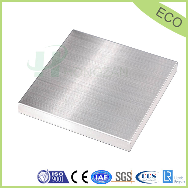 Brushed Aluminum Honeycomb Panel for Wall Cladding Sandwich Panel
