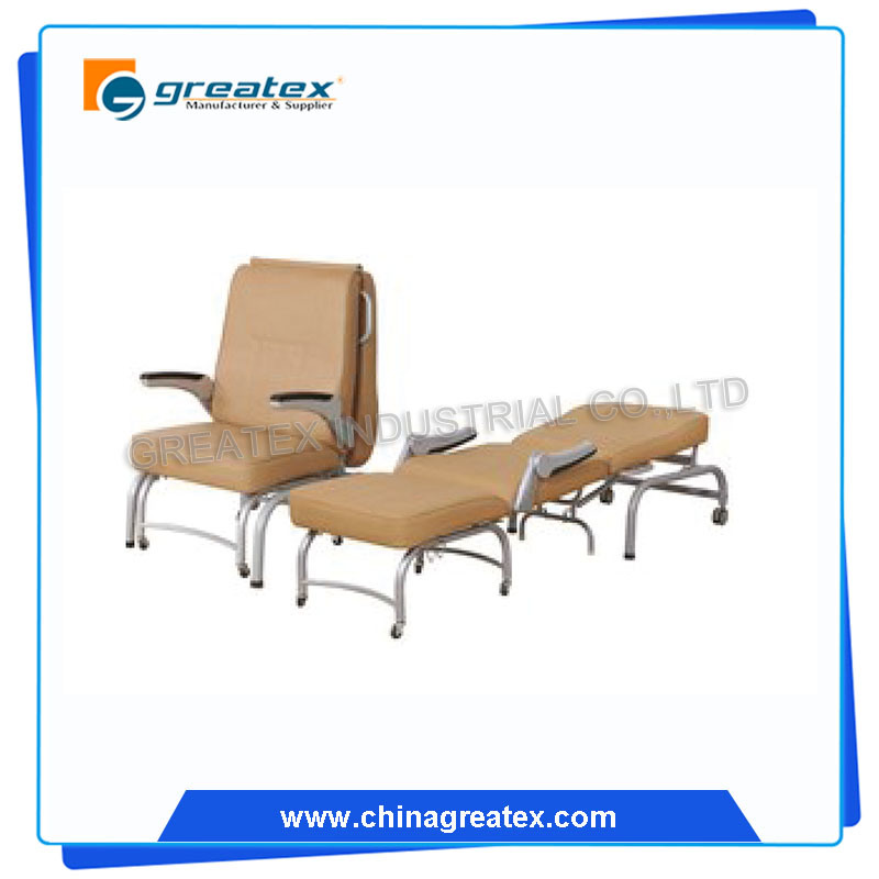 Accompany Chair, Hospital Foldable Bed, Hospital Furniture for Sale (GT-BE2503)