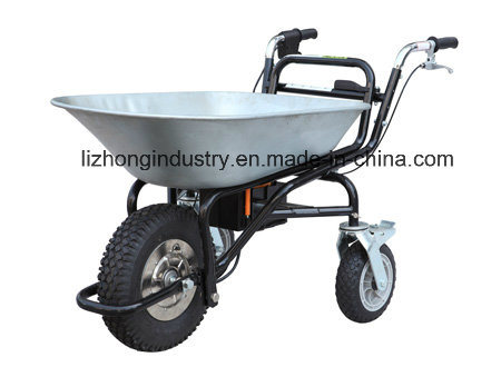 250W 120kgs Load Capacity Electric Barrow, Garden Wheel Barrow, Electric Wheel Barrow