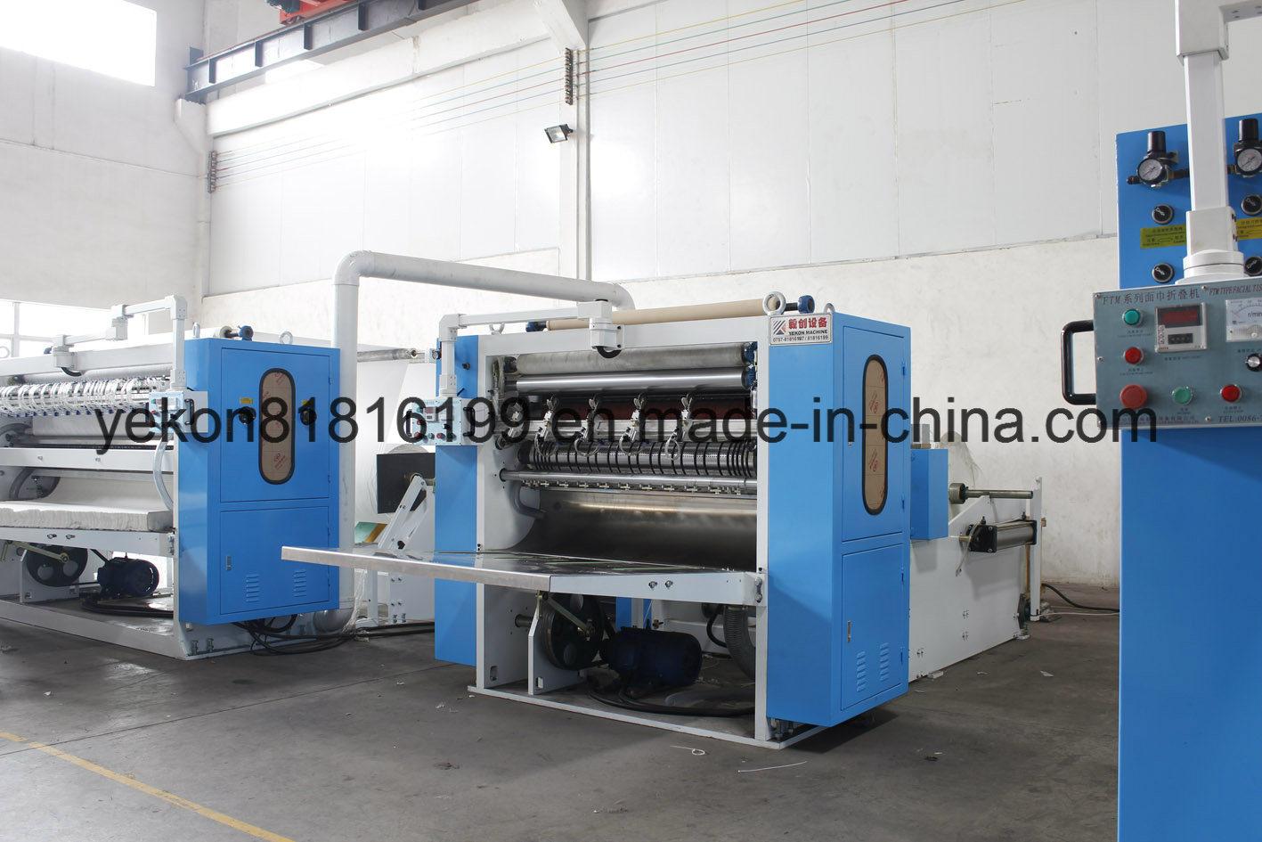 High Speed L Tissue Paper Folding Machine