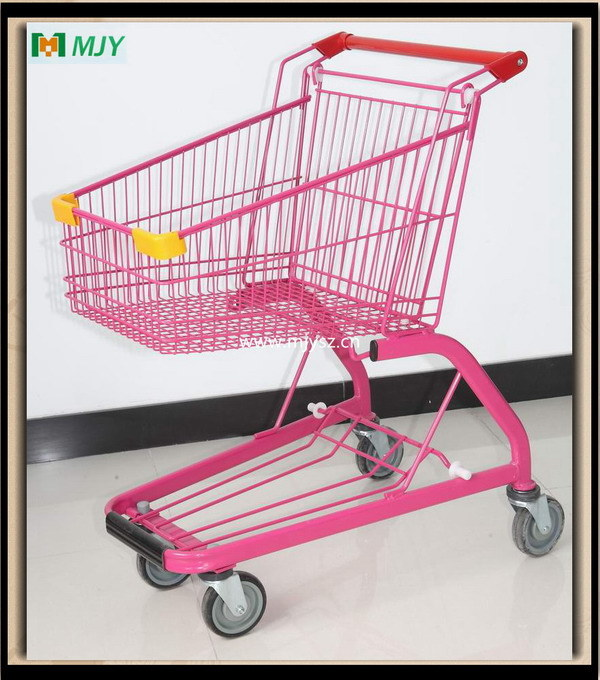 Supermarket Metal Shopping Trolley Cart From 60liters to 275 Liters