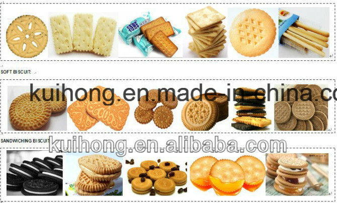 Kh Ce Approved Biscuit Making Machine Industry