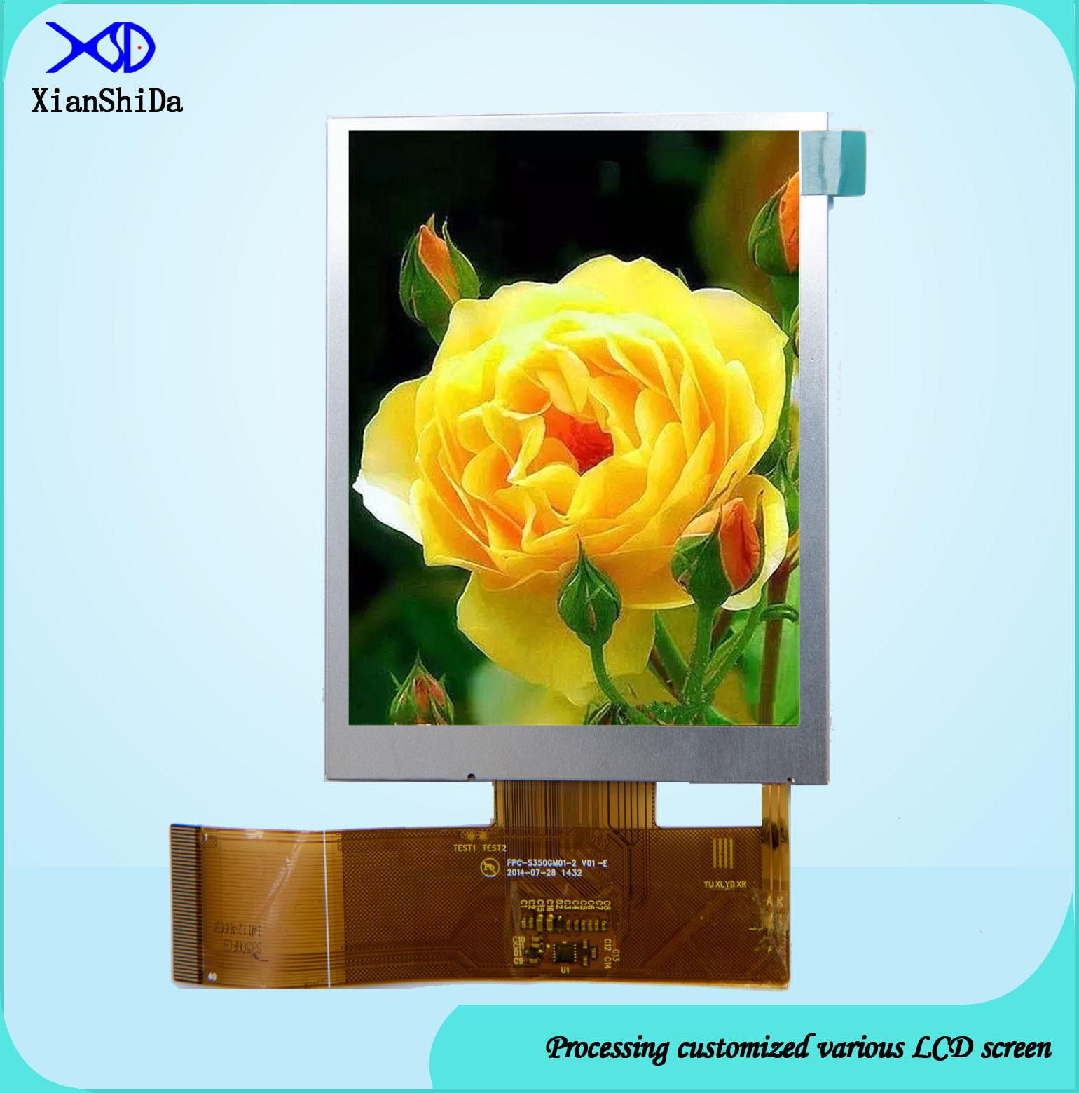 Sunlight Readable LCD Screen 3.5 Inch TFT Module 480 (RGB) X640 Resolution
