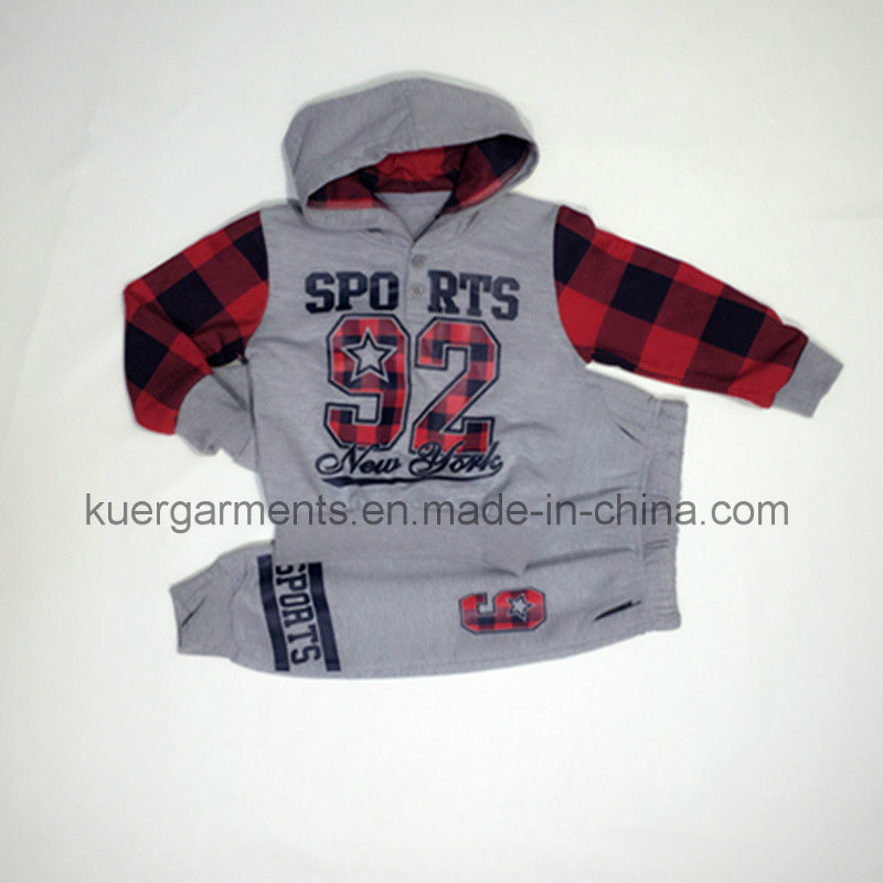 Kids Printed Clothes Boy Clothing for Spring/Autumn