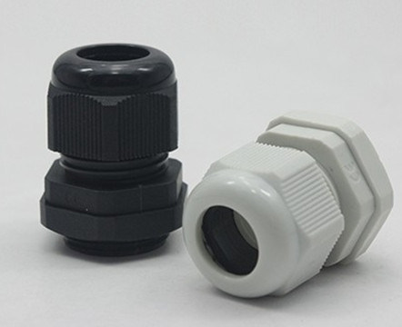 Black/Grey Nylon Cable Glands Waterproof Cable Gland Joints Pg7 Wire