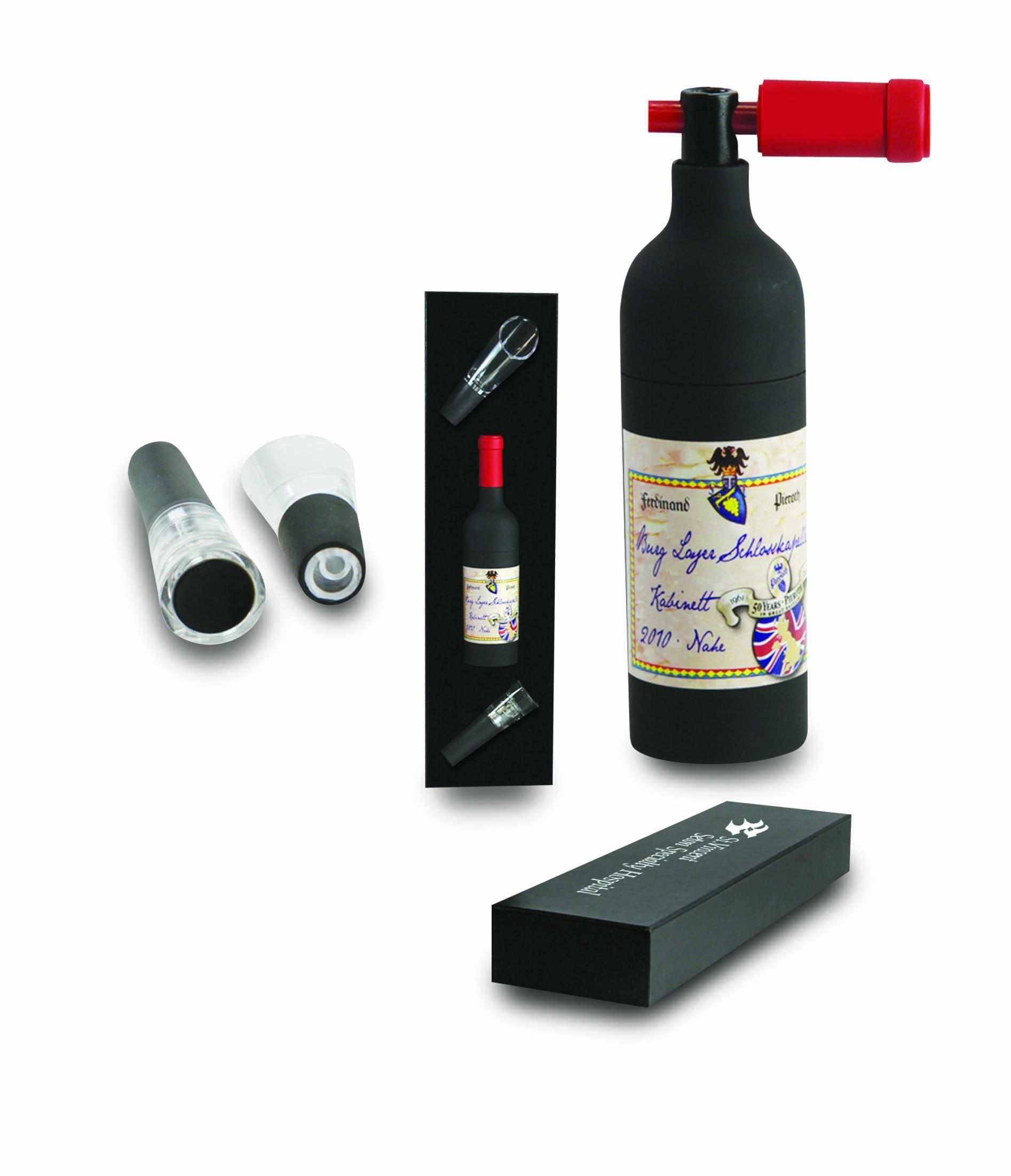 Wine Gift Set in Black Gift Box (608345)