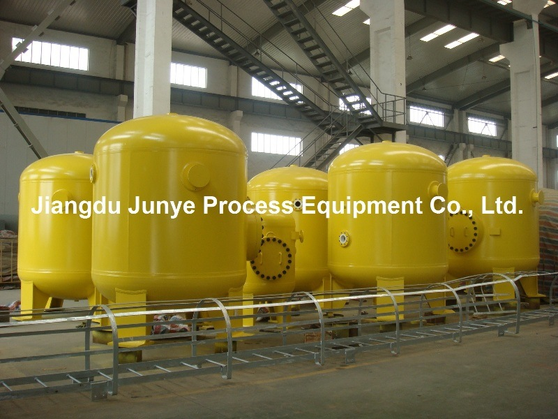 Pressure Vessel with Rubber Lining