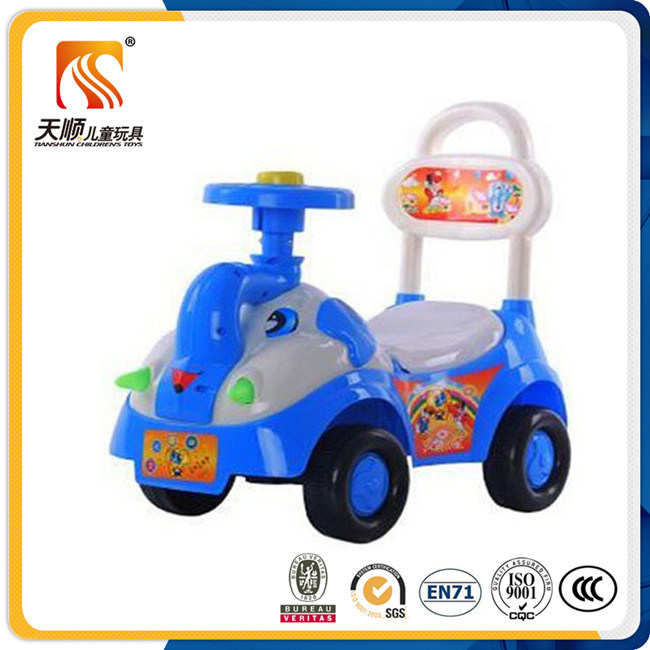 Hot Sale Baby Swing Car with 4 Wheels for Kids Made in China