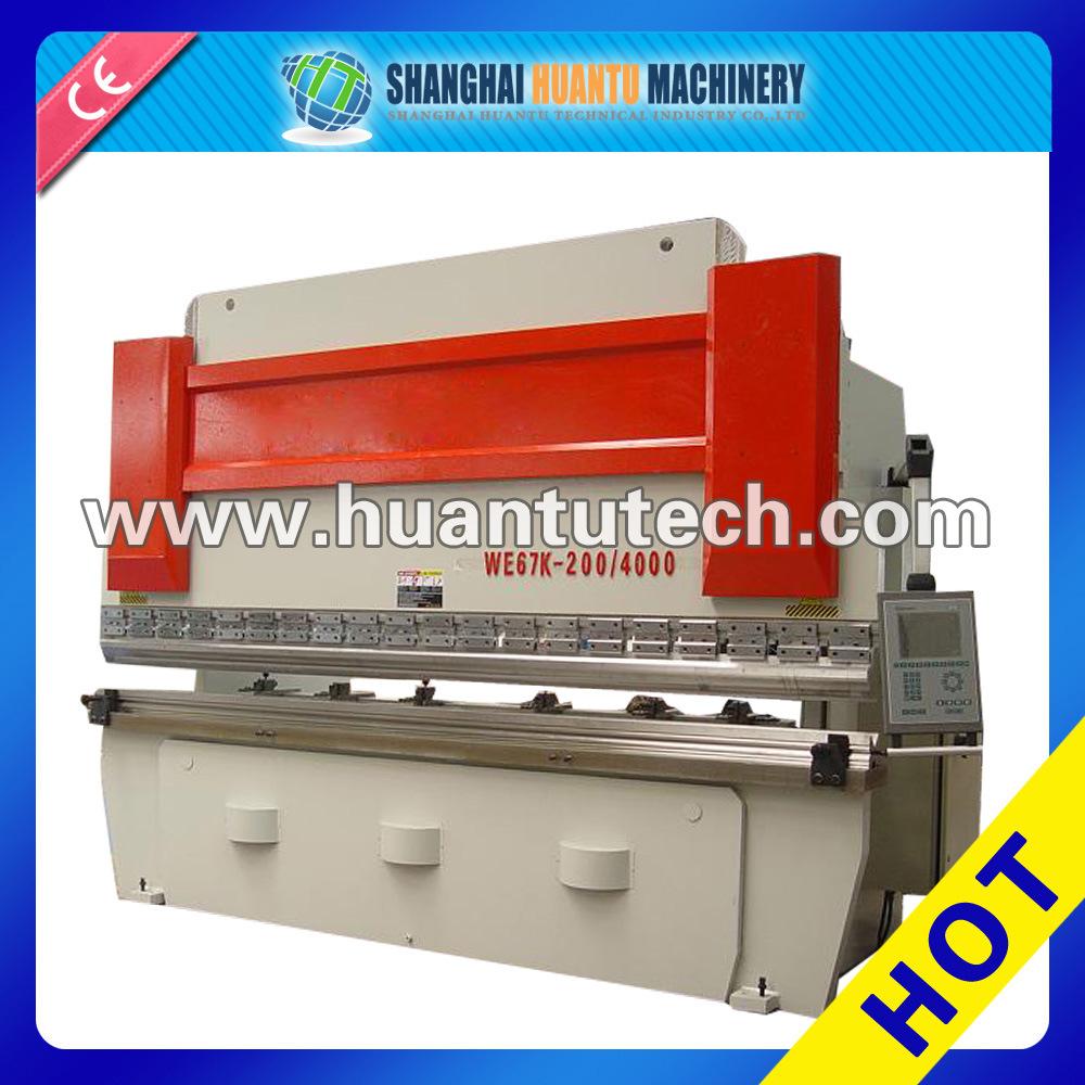 CNC Da41 Press Brake, Press Brake Bending Cutting Machine, Steel Sheet Bender (WE67K-100T/3200)