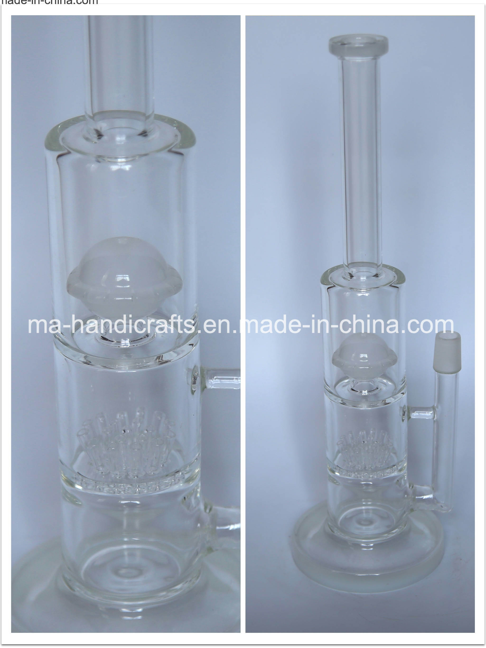 """14"""" Functional Glass Water Pipes"""