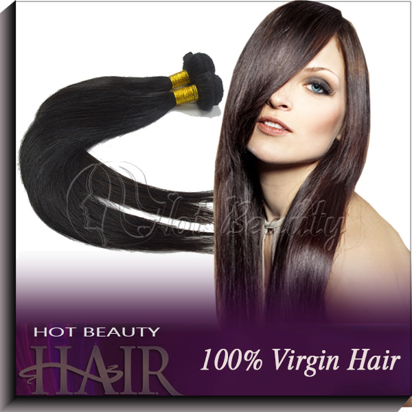 Virgin Indian Hair Extensions /Human Hair Weave Remy Hair (IVSTW001)