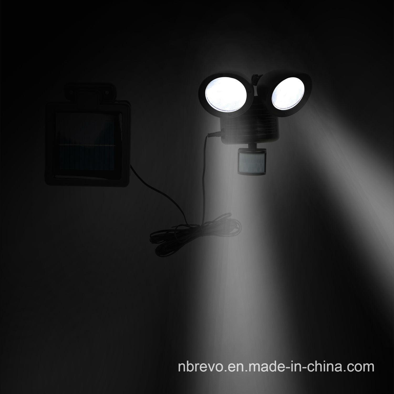 Solar Twin Motion Senor Security Light (RS2009W)
