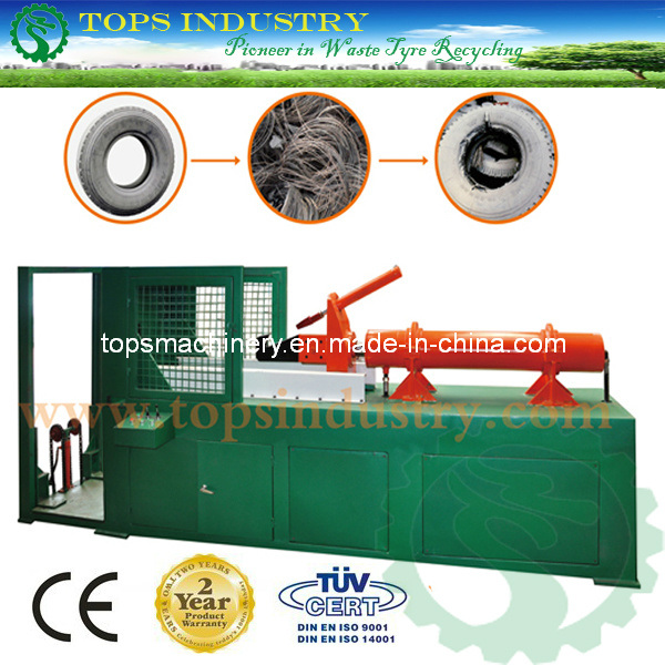 Waste Tyre Recycling Machine / Tyre Bead Extractor / Debeader / Debeading Machine / Wire Cable Extractor (SLS-900/1200)
