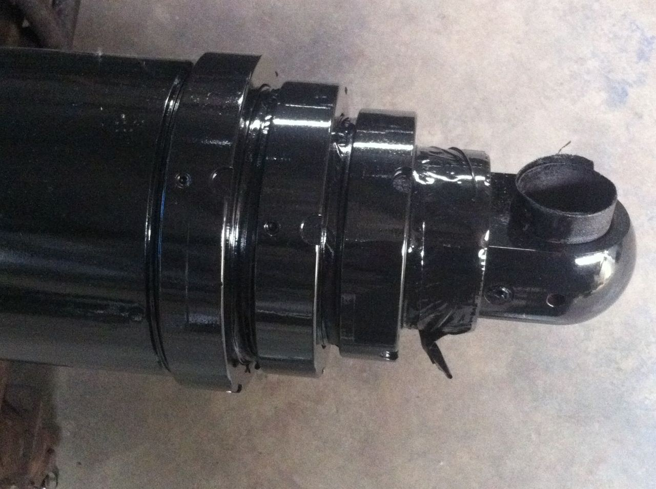 Dump Truck Front End Telescopic Hydraulic Cylinder