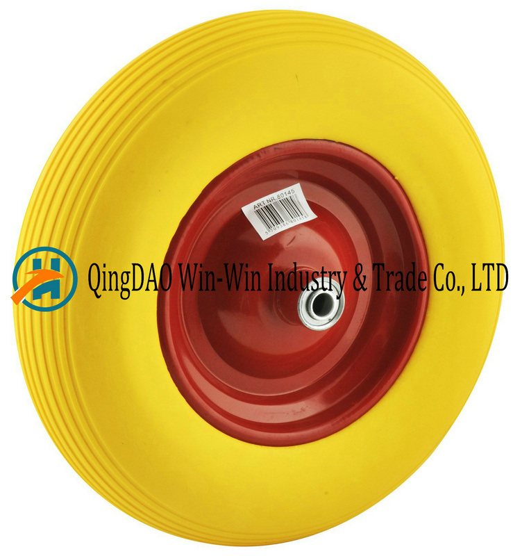 16*4.00-8 PU Wheel Rubber Wheel, Wheel Rim, PU Wheel