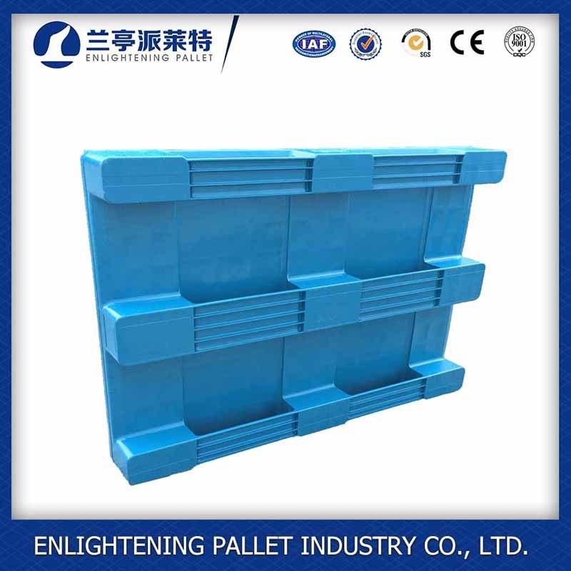 Heavy Duty Flat Single Sides Food Plastic Pallet for Sale