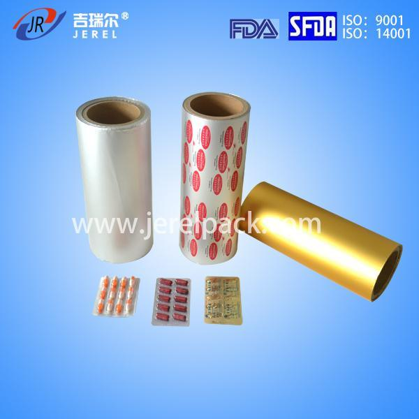 Medicine Blister Packaging with ISO Pharma Aluminium Foil