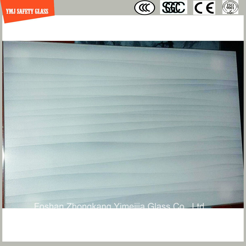 4-19mm Tempered UV-Resistance Acid Etched Glass for Outdoor Furniture or Decoration