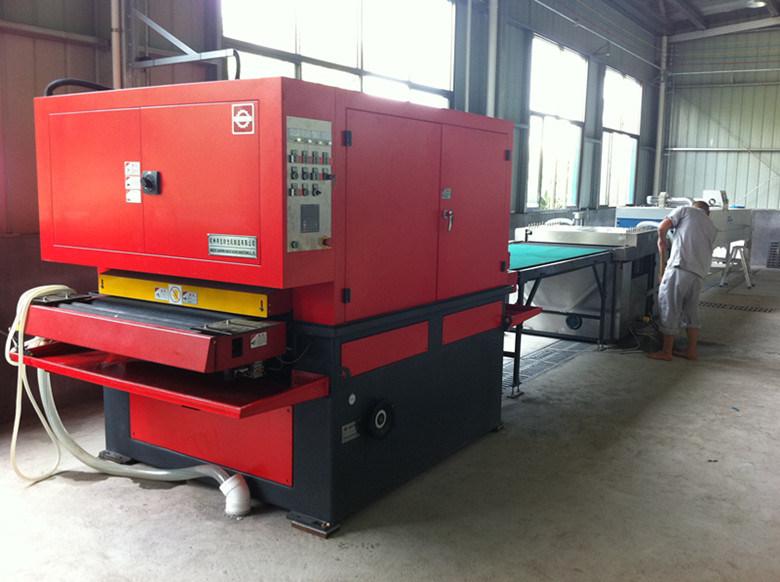 Sheet Metal Wet Surface Grinding Finishing Machine