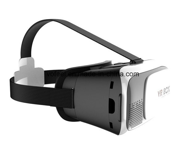 """Vr Box 2.0 Version Vr Glasses Google Cardboard for 3.5"""" - 6.0"""" Smart Phone+ 8GB 3D Games and Movies with Package"""