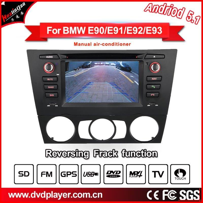 Car DVD/GPS Navigator for BMW 3 E90 E91 E92 Android System with Phone Connection