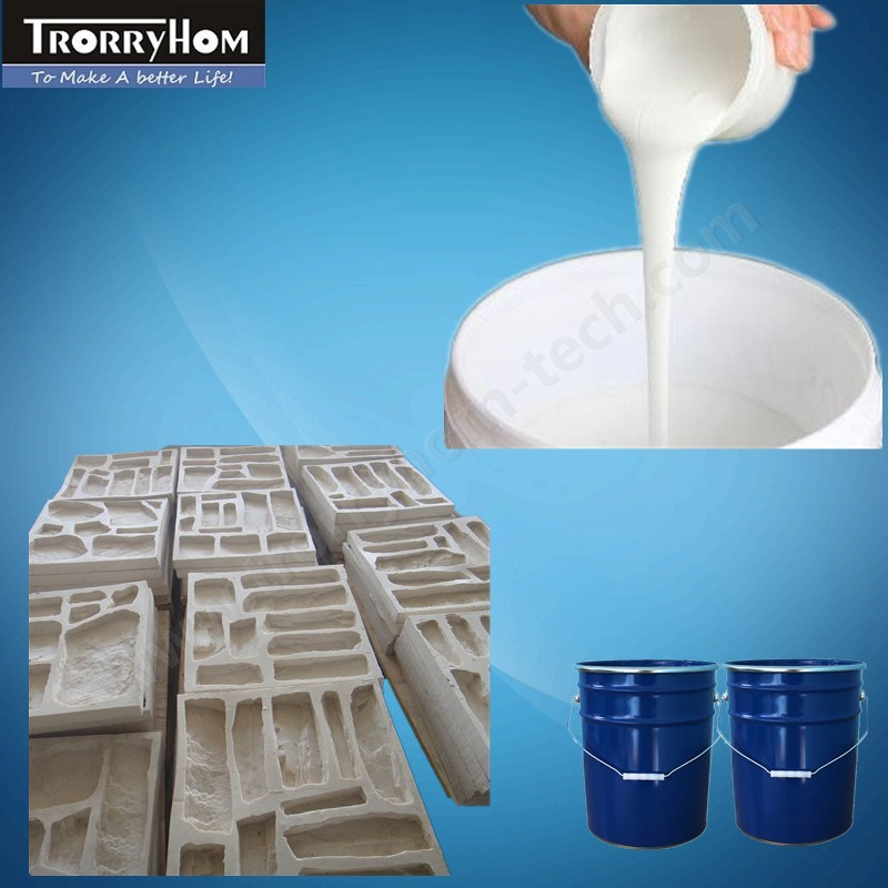 Silicone Rubber Molding for Decorative Concrete Products
