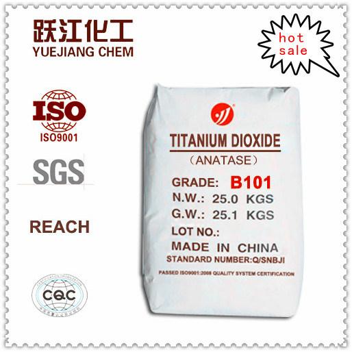 Economic Titanium Dioxide Anatase (B101) for Paint, Soap, Shoe Sole