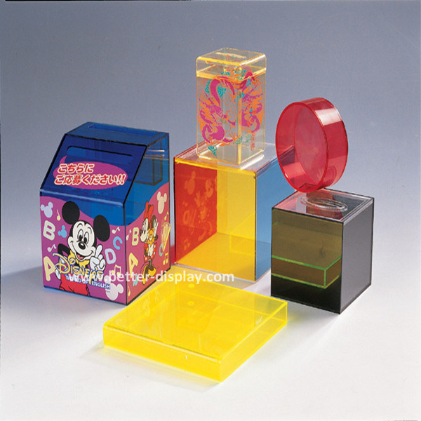 New Innovative OEM Colored Acrylic Candy Box (BTR-K4003)