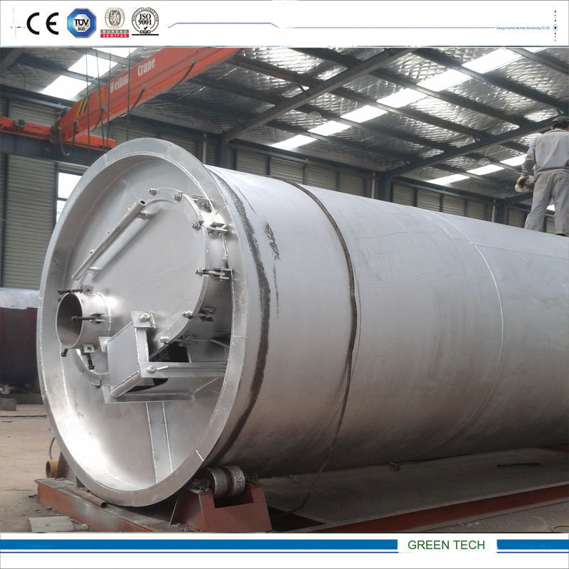 Waste Tires Refining Machine Convert Tire to Oil