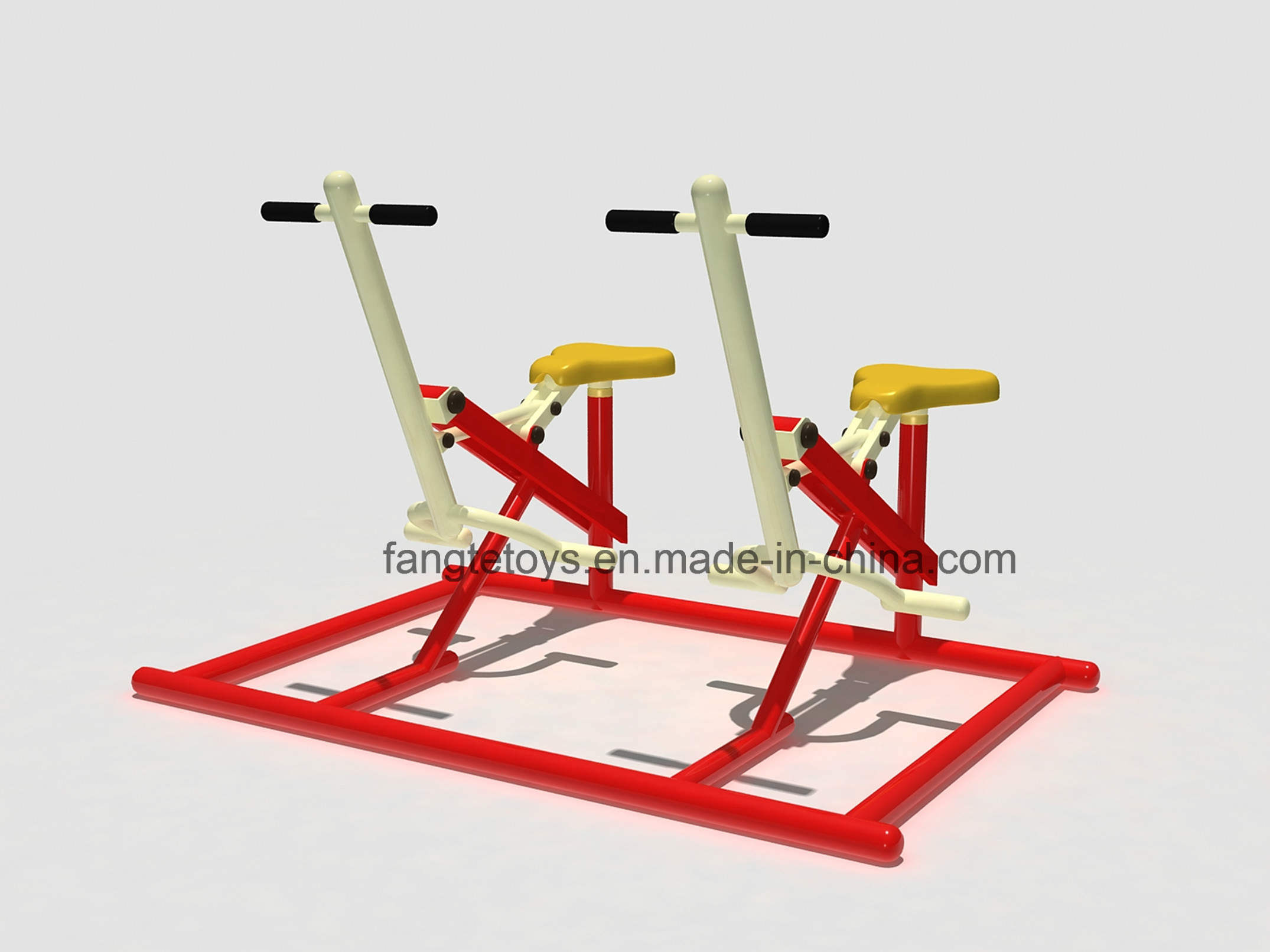 Outdoor Fitness Equipment Double Units Bonny Rider FT-Of343
