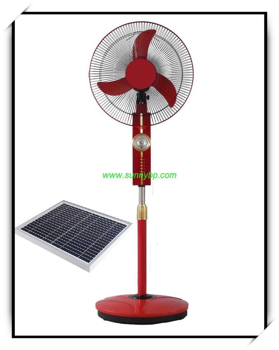 Solar Rechargeable Box Fan