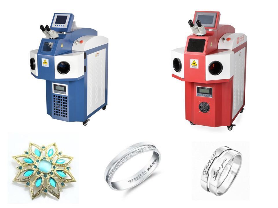 10/20/30W Nine Jewellry Laser Spot Welding Machine