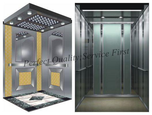 Capacity 1000kg, 1.75m/S Machine Roomless Passenger Elevator