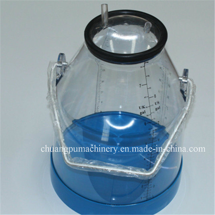 Plastic Calibration Cow Milking Pails with 25 Liters Capacity