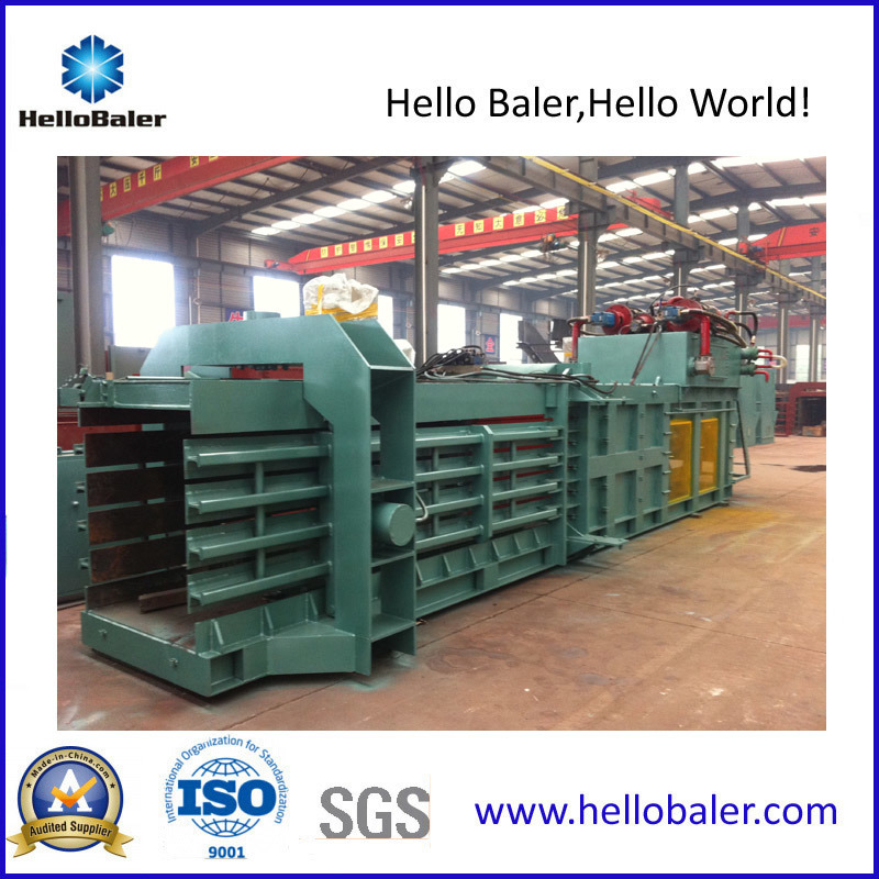 Automatic Horizontal Waste Paper Baler with Ce Cetificate