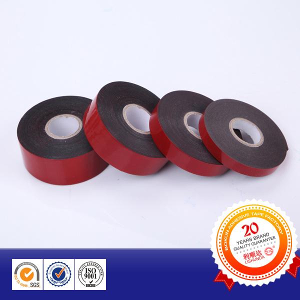 Automotive Red Double Side Foam Tape