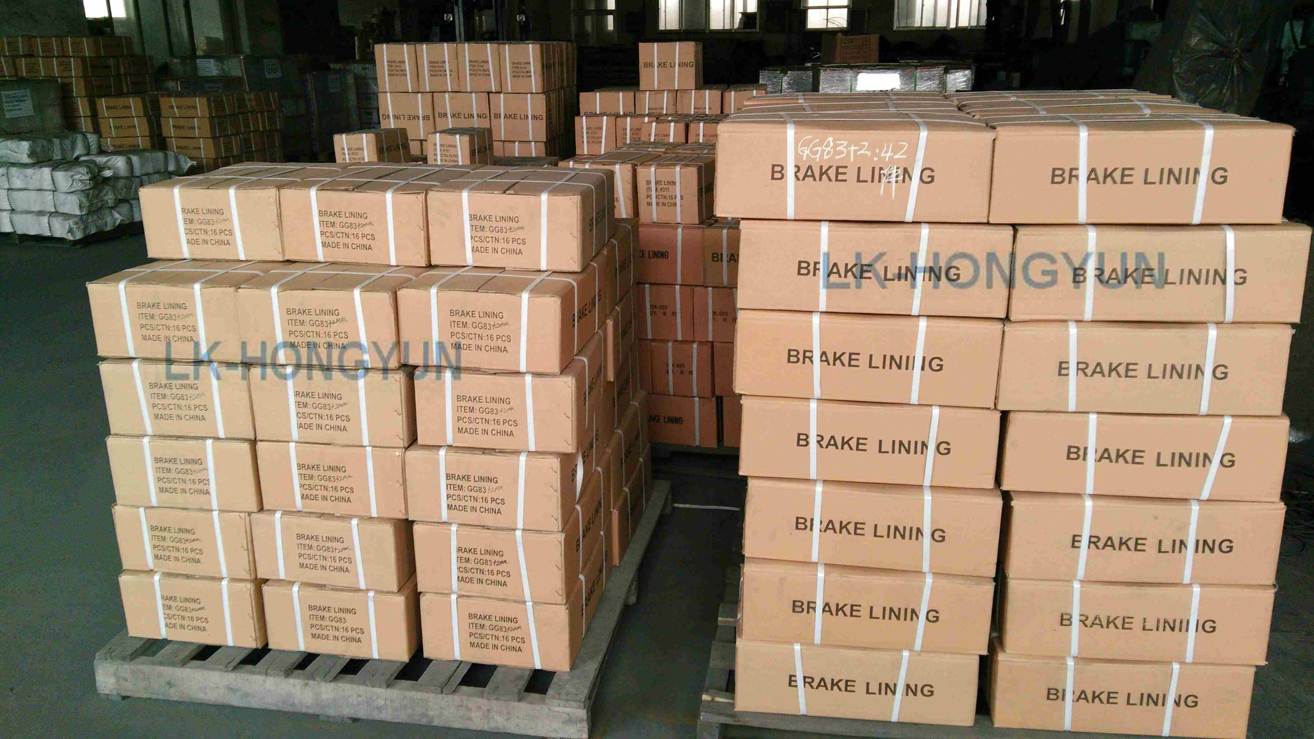 High Quality 29964 Brake Linings for Nissan Trucks