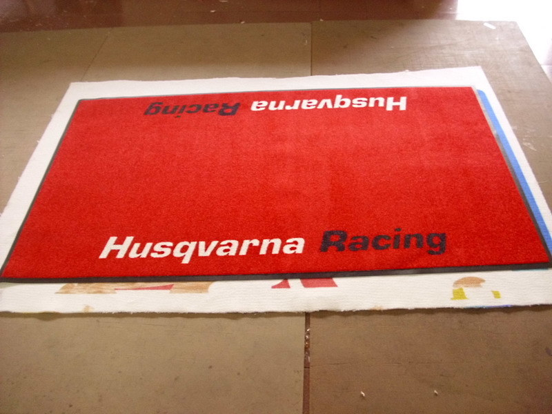 Inkjet Printed Logo Mats with High Quality