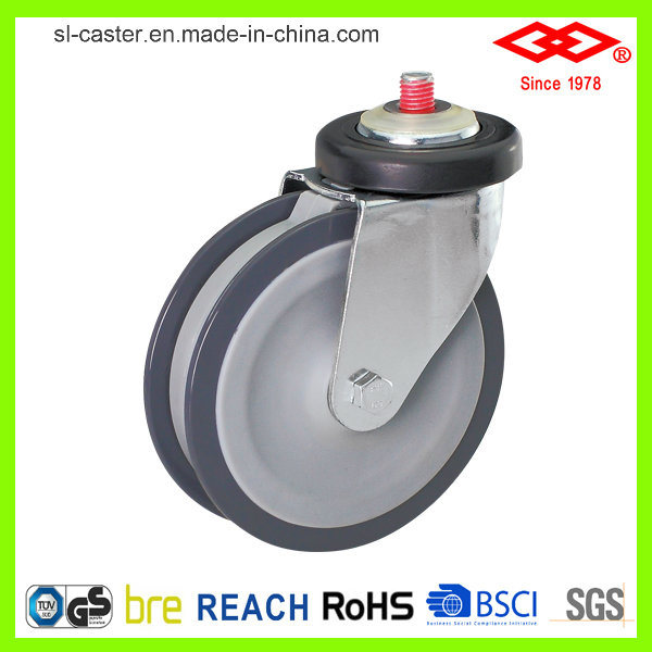 4 Inch Bolt Hole Trolley Castor (G142-06E100X38)