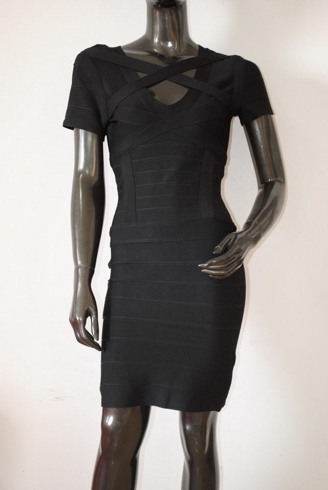 Fashion Black Split Night Club Wedding Dresses